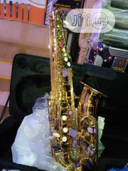 Yamaha Alto Saxophone (Gold)   Musical Instruments for sale in Lagos State, Ojo
