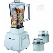 Electric Blender With Two Mill | Kitchen Appliances for sale in Lagos State, Kosofe