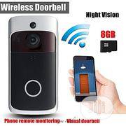 Wifi Camera Smart Videosecurity Doorbell With/Two Way   Home Appliances for sale in Lagos State, Ikeja