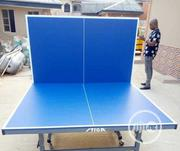 Outdoor Table Tennis Board With Two Bats And Tennis Balls   Sports Equipment for sale in Kaduna State, Jaba