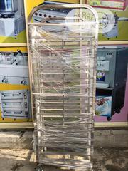 Stainless Steel Single Line Tray Trolley | Store Equipment for sale in Lagos State, Ojo