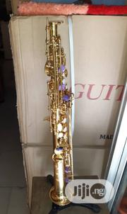 Vintage Straight Soprano Saxophone (Gold) | Musical Instruments & Gear for sale in Lagos State, Ojo