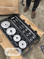 50kg Barbell With Dumbell Rod | Sports Equipment for sale in Lagos State, Lekki Phase 2