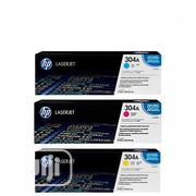 HP 304A Color Original Laserjet Toner Cartridges   Accessories & Supplies for Electronics for sale in Abuja (FCT) State, Wuse 2
