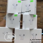Original Wireless Apple Airpods 2 (Second Generation) | Headphones for sale in Lagos State, Ikeja
