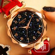 Star Sky Dial Clock Luxury Rose Gold Women's Quartz Wrist Watches   Watches for sale in Rivers State, Port-Harcourt