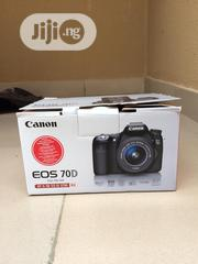 Brand New Canon EOS 70D With Complete Accessories | Photo & Video Cameras for sale in Lagos State, Ikeja