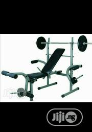 New Weight Bench With 50 Kg Weight | Sports Equipment for sale in Niger State, Minna