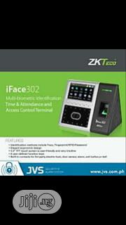 Zkteco Iface 302 Facial Fingerprint Time Attendance And Access Control | Safety Equipment for sale in Lagos State, Ikeja