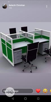 Four Seater's Workstation With Drawers | Furniture for sale in Lagos State