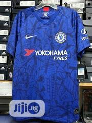 Chelsea Home Authentic 19/20 Jersey Kit + Free Print *BEST DEAL | Clothing for sale in Lagos State, Lagos Mainland