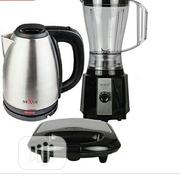 Nexus Blender + 1.5 Kettle + Sandwich Maker With Grill. | Kitchen Appliances for sale in Abuja (FCT) State, Lugbe District