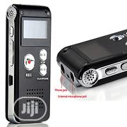 LINCOLN DIGITAL Rechargeable 8G Audio Voice Recorder – Black | Audio & Music Equipment for sale in Oyo State, Ibadan North West