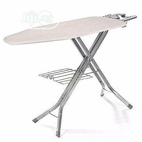 Cushioned Ironing Board With Electrical Plug