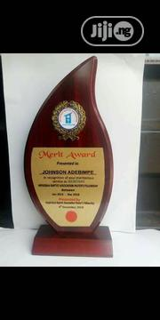 Wooden Plaque Award With Printing | Arts & Crafts for sale in Lagos State, Lekki Phase 1