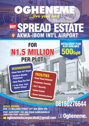 Land for Sale at Akwa Ibom International Airport Uyo. | Land & Plots For Sale for sale in Akwa Ibom State, Uyo