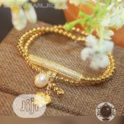 Gold Tone Beaded Bracelet | Jewelry for sale in Lagos State, Badagry