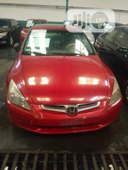 Honda Accord 2003 Red | Cars for sale in Lagos State, Mushin