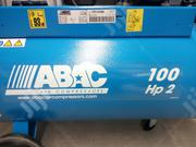 Abac Air Compressor 100lt Belt 2.5hp | Vehicle Parts & Accessories for sale in Lagos State, Apapa