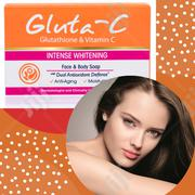 Gluta C Face And Body Soap Treatment For Photo-aging And Dark Spots | Skin Care for sale in Lagos State, Surulere