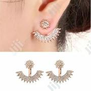 Multi Angle, Front And Rear Gold Ear Ring | Jewelry for sale in Lagos State, Alimosho