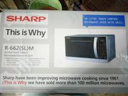 Origina Sharp Microwave Grill 20l Silver Colour Direct From UK | Kitchen Appliances for sale in Lagos State, Lagos Mainland