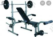 Complete Sets Of Weight Bench Press With Original 30kg Weight | Sports Equipment for sale in Lagos State, Ikoyi