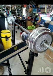 50kg Deluxe Chrome Weight Lifting | Sports Equipment for sale in Abuja (FCT) State, Jabi
