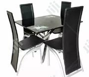 Square Dinning Table With 4 Chairs   Furniture for sale in Lagos State, Lekki Phase 1