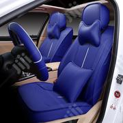 Real Blue Leather Car Seat Cushion Cover | Vehicle Parts & Accessories for sale in Lagos State, Victoria Island