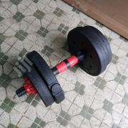 Pair of 5kg Plastic Adjustable Dumbbells | Sports Equipment for sale in Lagos State, Surulere