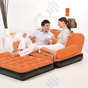 Bestway Multi-max Inflatable Couch + Air Pump (Orange Color) | Furniture for sale in Oyo State, Ibadan South West