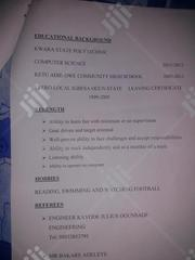 Cashier At A Gas Filling Station In Ilorin | Computing & IT CVs for sale in Kwara State, Moro