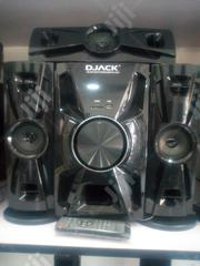 Brand New D Jack X Bass Hifi System Dj403 Bluetooth 3.1ch Warranty | Audio & Music Equipment for sale in Lagos State, Ojo