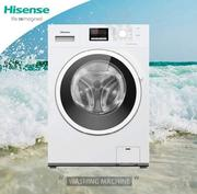 Brand Hisease 10kg Silver Front Load Inverter Wash and Dry Mw1014v   Home Appliances for sale in Lagos State, Ojo