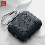 Xundd Earphone Airpods Protective Bag TPU Weaving Soft Case - Black | Accessories & Supplies for Electronics for sale in Lagos State, Ikeja