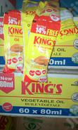 Rolls Of Kingsvsachet Oil 80ml | Meals & Drinks for sale in Orile, Lagos State, Nigeria