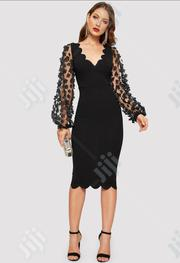 Mesh Ladies Bodycon Dress | Clothing for sale in Lagos State, Ikeja