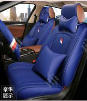 Blue Leather Red And White Design Car Seat Cover | Vehicle Parts & Accessories for sale in Lagos State, Lagos Island