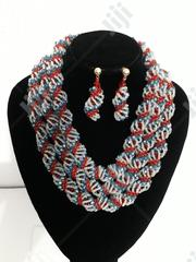 Multi-Coloured Beaded Jewellery With Earrings | Jewelry for sale in Lagos State, Shomolu