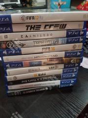This Is PS4 CDS With Differents Type Of Games | Video Games for sale in Lagos State, Lagos Mainland