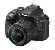 Nikon D3300 With 18-55mm (Brand New) | Photo & Video Cameras for sale in Lagos State, Ikeja