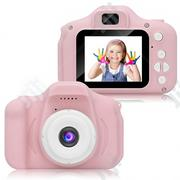 Multipurpose Cartoon Digital Camera For Kids - Pink | Toys for sale in Lagos State, Ikeja