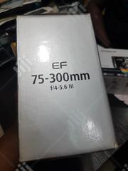 This Is Canon EF 75- 300 Mm F/4-5.6 Lll Zoom Lens | Accessories & Supplies for Electronics for sale in Lagos State, Lagos Mainland