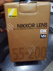 This Is Nikon AF-S DX NIKKOR 55-200mm F/4-5.6G ED VRII Lens | Accessories & Supplies for Electronics for sale in Lagos State, Lagos Mainland