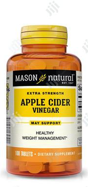 Mason Apple Cider Vinegar by 100 Tablets | Vitamins & Supplements for sale in Lagos State, Ikeja
