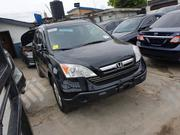 Honda CR-V EX-L 4WD Automatic 2007 Black | Cars for sale in Lagos State, Lagos Mainland