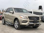 Mercedes-Benz M Class 2012 Gold | Cars for sale in Abuja (FCT) State, Mabushi