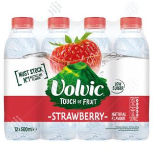 Volvic Water Touch Of Fruit Strawberry Flavored 12x500ml