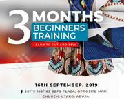 Beginners Training On Fashion Design | Classes & Courses for sale in Abuja (FCT) State, Wuye